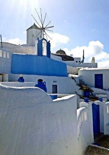 圣托里尼:永恒的蓝白世界
